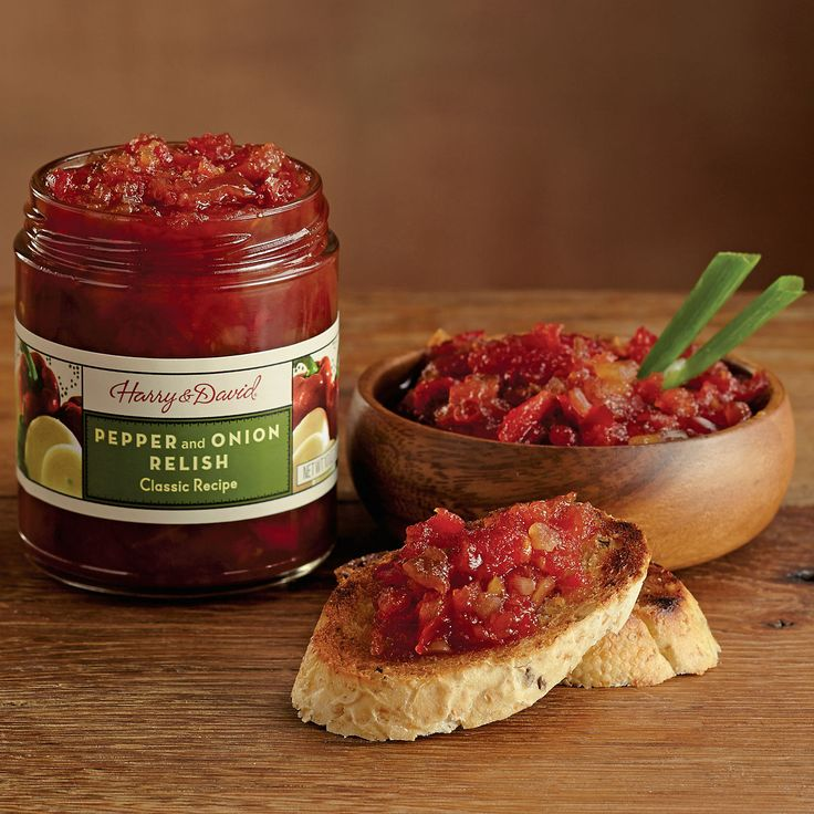 Pepper and Onion Relish   Gourmet Food Online   Harry & David