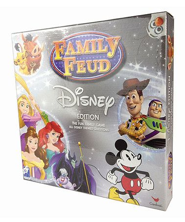 Loving this Disney Family Feud Board Game on #zulily! #zulilyfinds