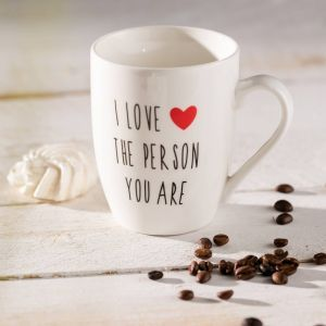 Valentine's mug.  #dekoria #love #couple #valentines2017 #gift #bedroom #walentynki #prezent #mug #forher #forhim #dlaniej #dlaniego #kubek