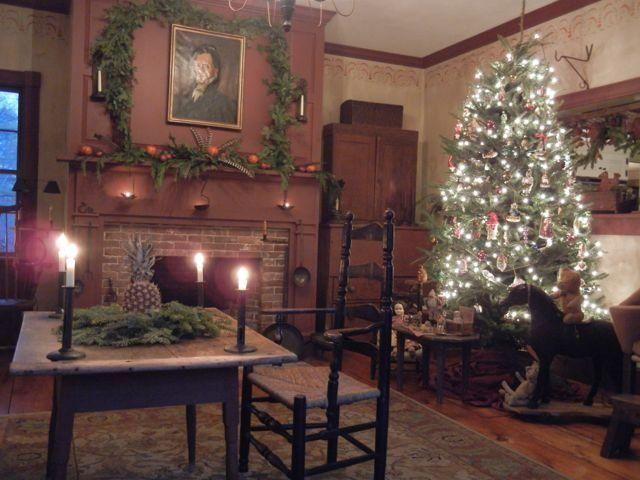 490 best Primitivefort images on Pinterest Primitive decor - primitive christmas decorations