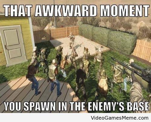Call of Duty fail - http://www.videogamesmeme.com/memes/call-of-duty-fail/