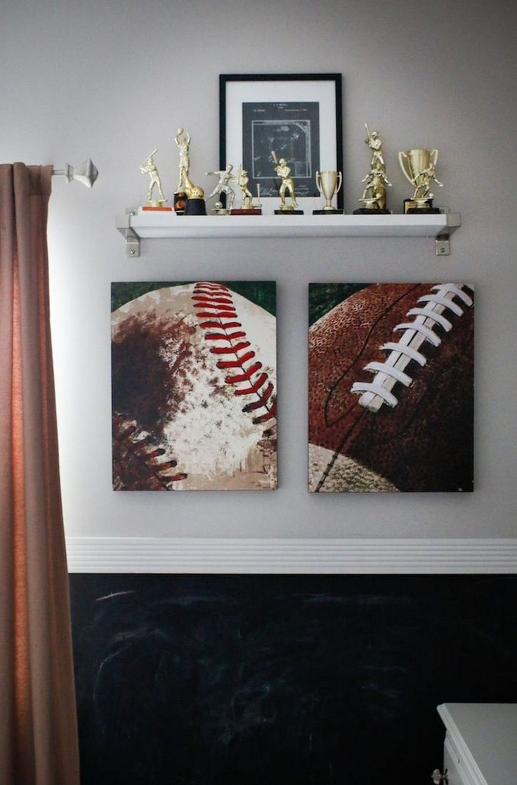 99 Boys Baseball Themed Bedroom Ideas (9)