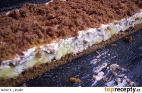Krtkův dort na plechu