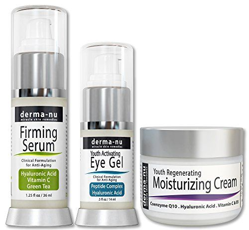 Skin Care Products for Anti Aging – Facial Treatments for the Skin – The Most Effective Skincare for Wrinkles – Hyaluronic Acid Serum – Eye Wrinkle Cream – Anti Aging Skin Cream – 3 Piece Skin Care Kit - http://best-anti-aging-products.co.uk/product/skin-care-products-for-anti-aging-facial-treatments-for-the-skin-the-most-effective-skincare-for-wrinkles-hyaluronic-acid-serum-eye-wrinkle-cream-anti-aging-skin-cream-3-piece-skin-care-ki/