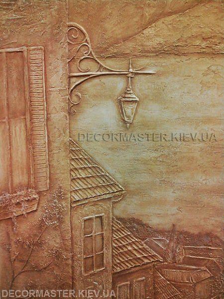Картина из декоративной штукатурки - Скульптура и лепка - Лепные панно и барельефы