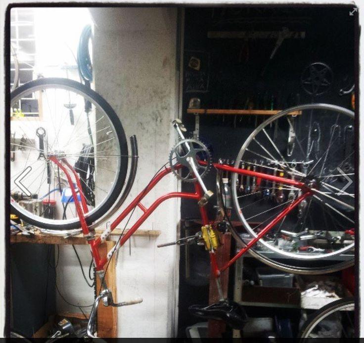Marian pyörään tuli osat ... vanhasta  mummopyörästä tulee 3-vaihteinen menopeli