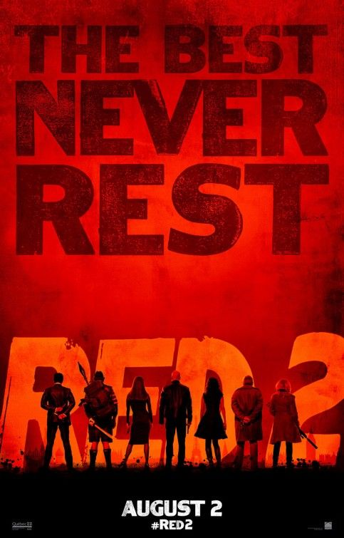 A poster from Red 2 (2013)