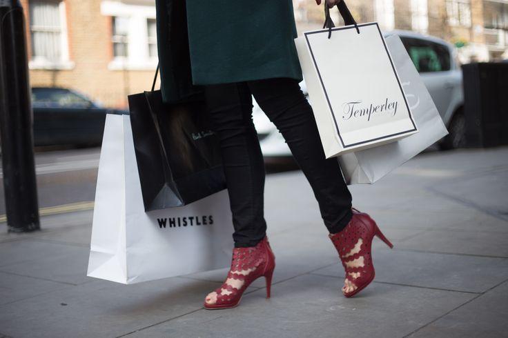 Red Comfortable Heels