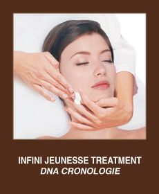 DNA Cronologie Treatment. ANTI AGING Regardless of skin type, skin becomes thinner as time passes, it loses firmness and dreaded wrinkles appear. Anesi offers Infini Jeunesse, an expert anti-ageing range with innovative formulas including the latest active ingredients to combat the signs of ageing.