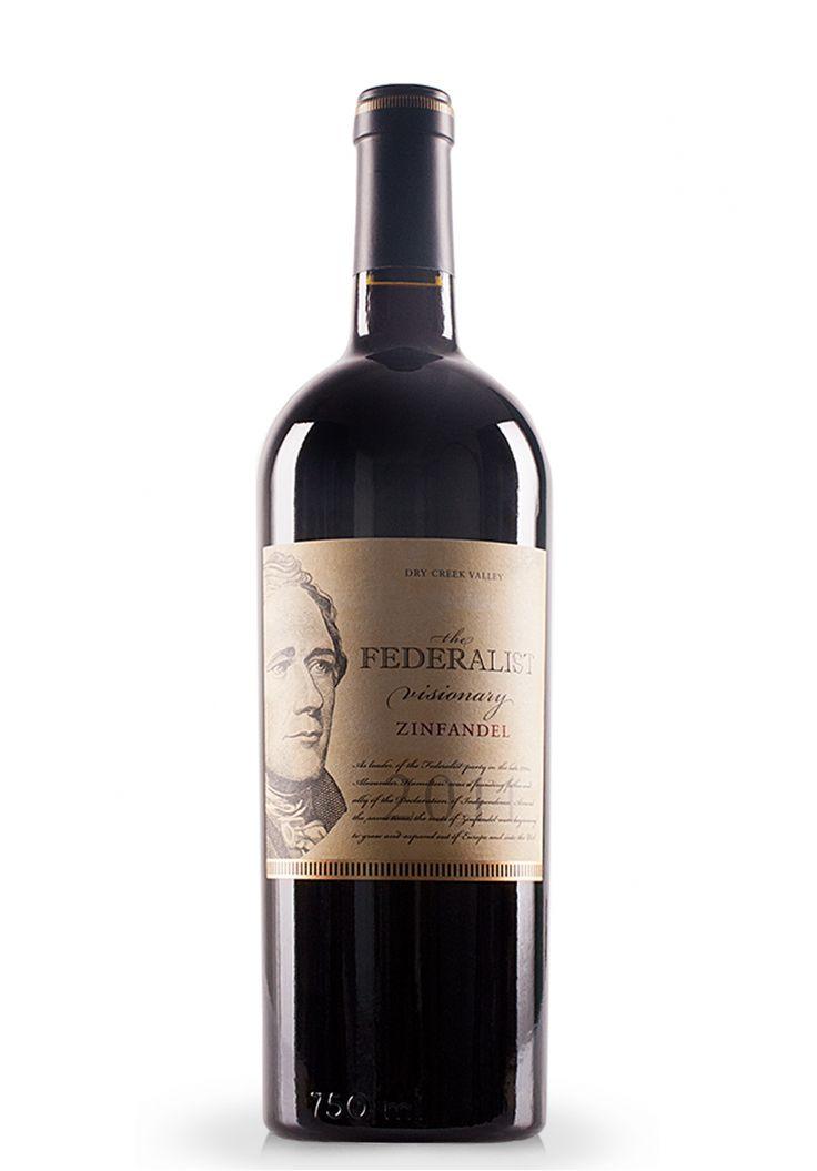 Vin The Federalist Visionary Zinfandel, Dry Creek Valley, 2011 (0.75L) - SmartDrinks.ro