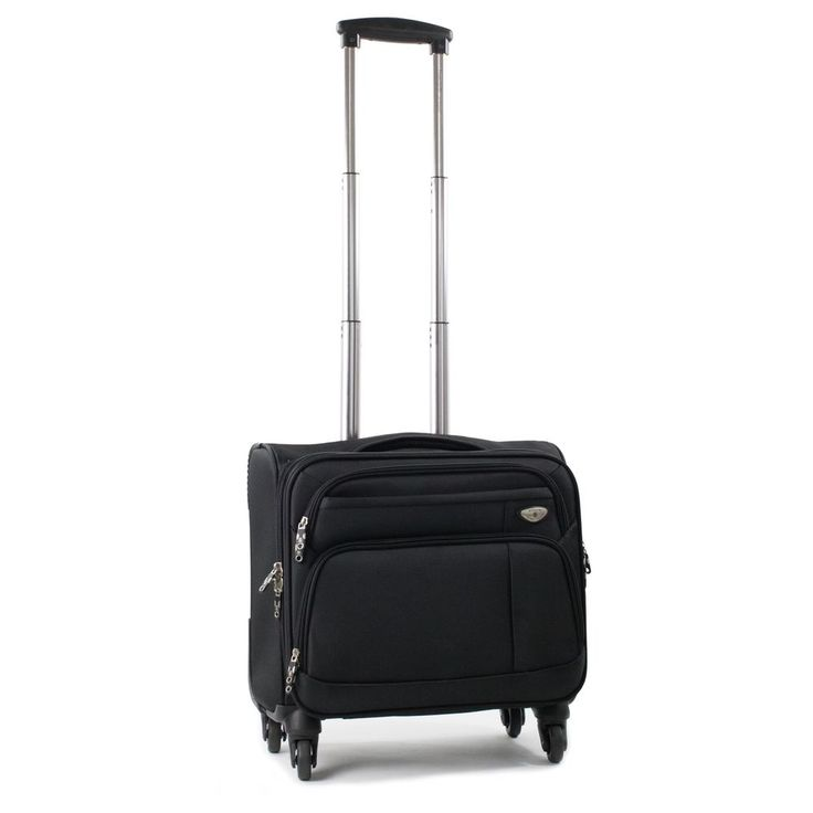 Laptop Business Briefcase Black Color Carry On Spinner Luggage New Free Shipping