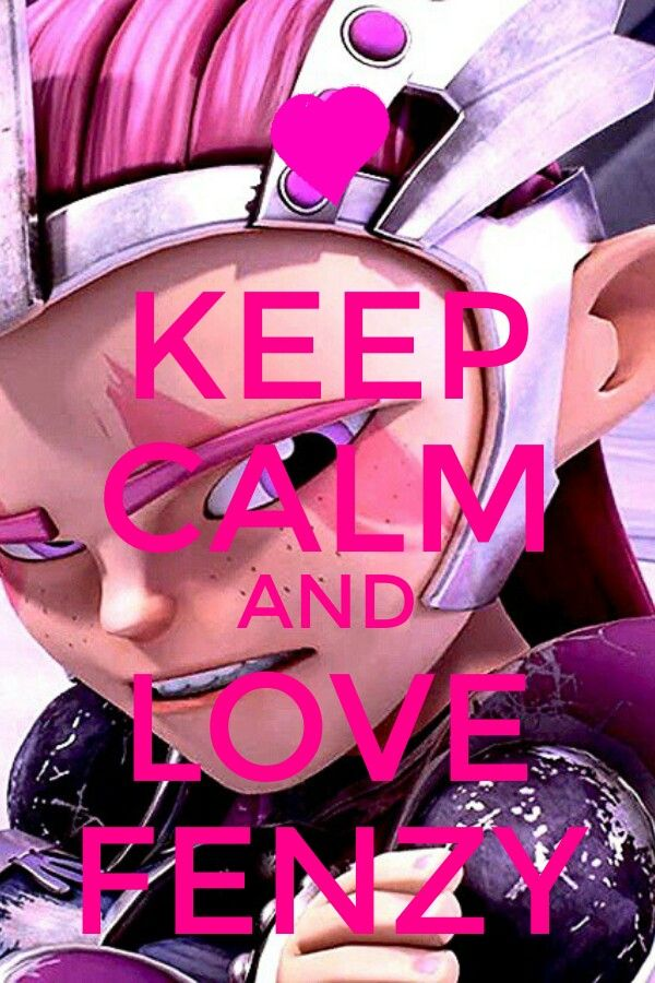 Keep calm and love Fenzy