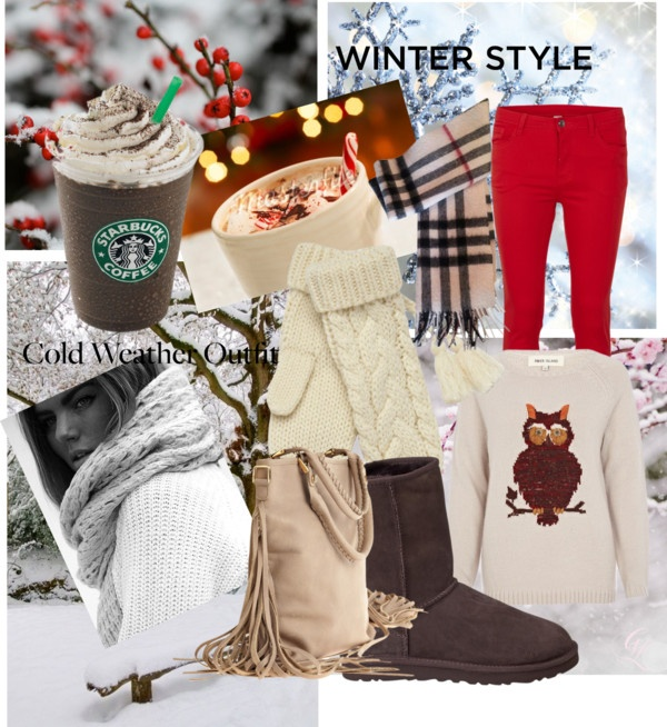 """Snow in your face"" by agathe-hillenmeyer ❤ liked on Polyvore"