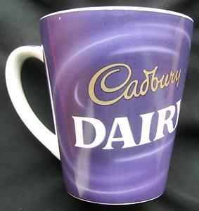 Cadbury Dairy Milk Chocolate Ceramic Mug Cadbury S