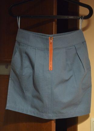 Kup mój przedmiot na #Vinted http://www.vinted.pl/kobiety/spodnice/7916159-niebieska-spodniczka-miniowka-hit