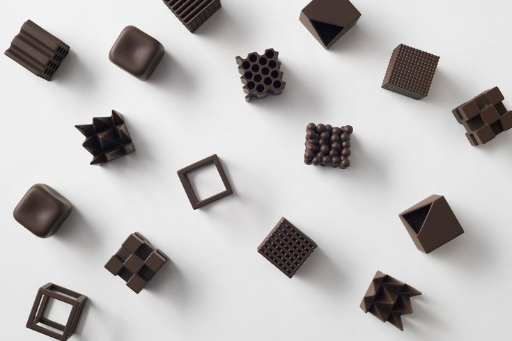 Nendo: Chocolatexture
