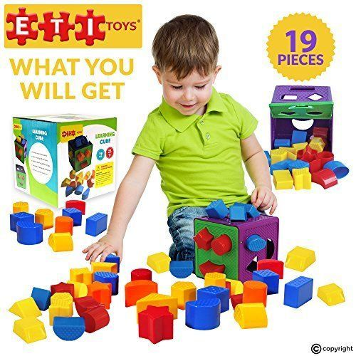Kids Educational Toy Sorting Matching Toddler Development Learning Cube Box Gift #ETIToys