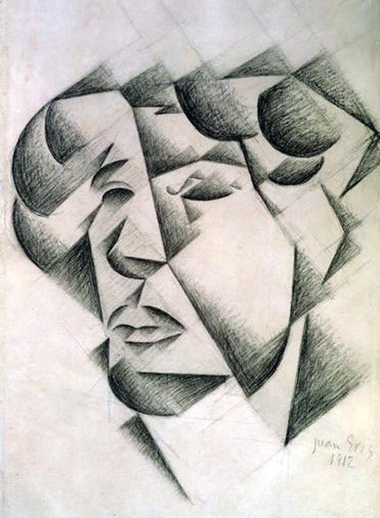 self portrait - juan gris 1912