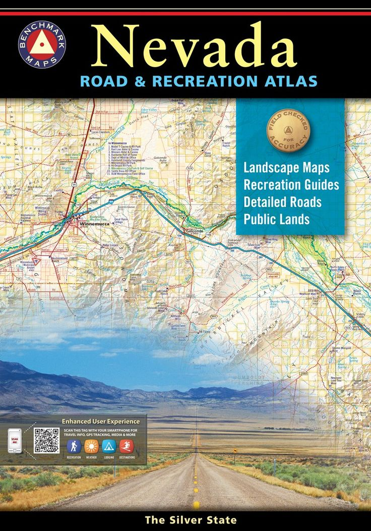 Nevada is known as the wildest adventure state in the lower 48. Finally there's an atlas to fully corral all of Nevada's outdoor potential. Careful and thorough field checking and local research have made this atlas an essential resource for both town and country. The Recreation Guide features maps with hunting unit boundaries over public lands tints and emphasize historic trails and points of interest.
