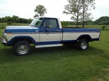 1978 Ford F-150 lariat  this was my first vehicle....wish I still had it.