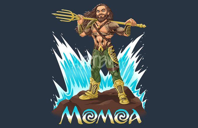 Jason Momoa Aquaman T-Shirt