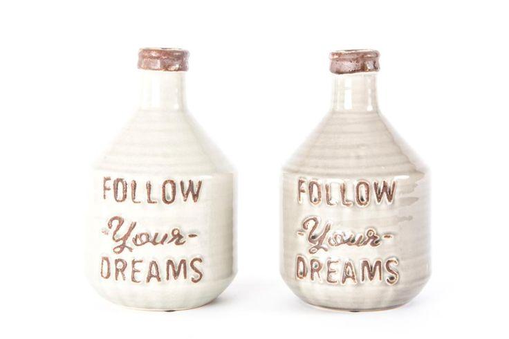 jarrón cerámica 15 x 25
