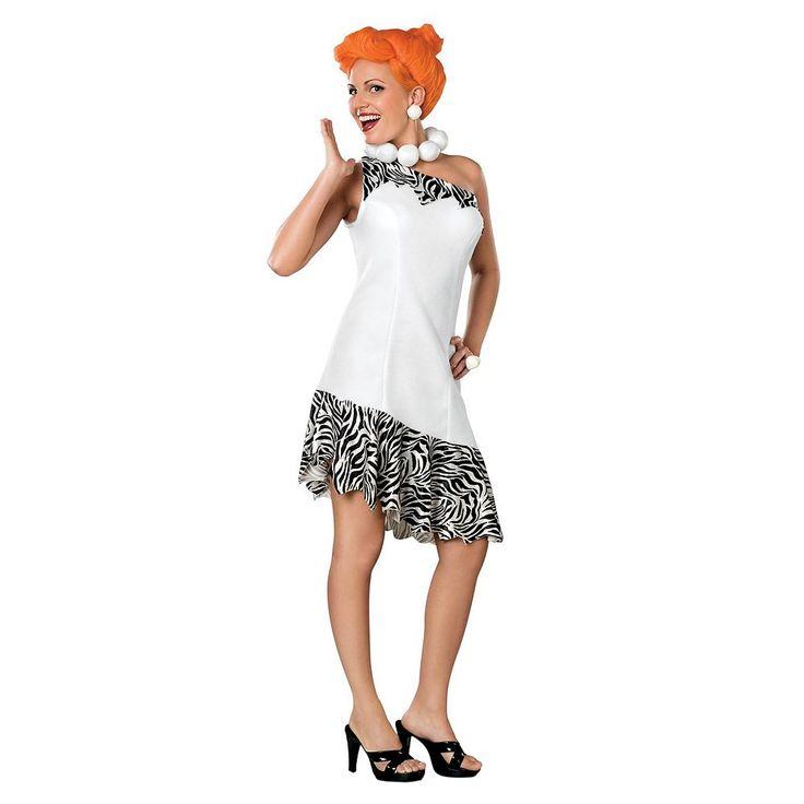 Wilma Flintstone Costume - Adult, Women's, Size: Medium, Multicolor