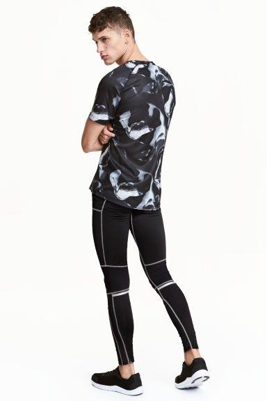 Collant running - Noir - HOMME   H&M FR