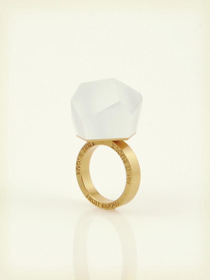 Vu - alice blue, gold ring - =PYO=