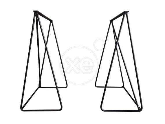 SERENDIPITY // Metal Table legs (pin style- price for both)