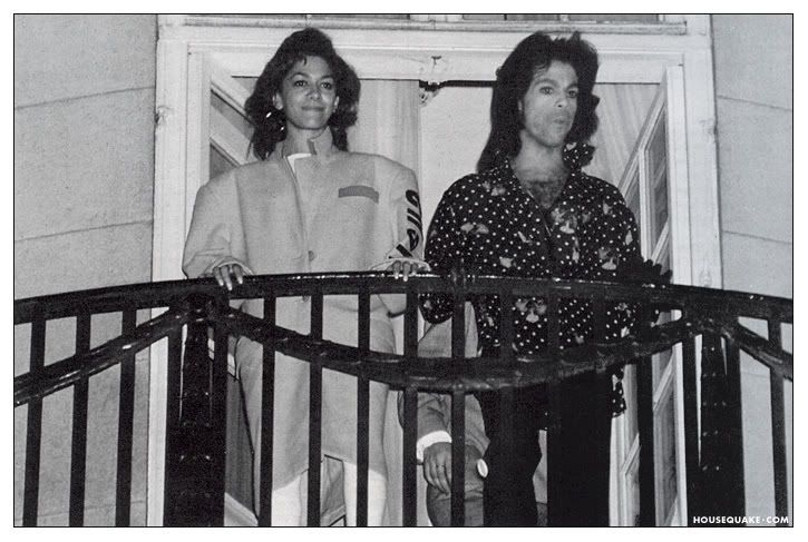 Pictures of Prince just hanging out