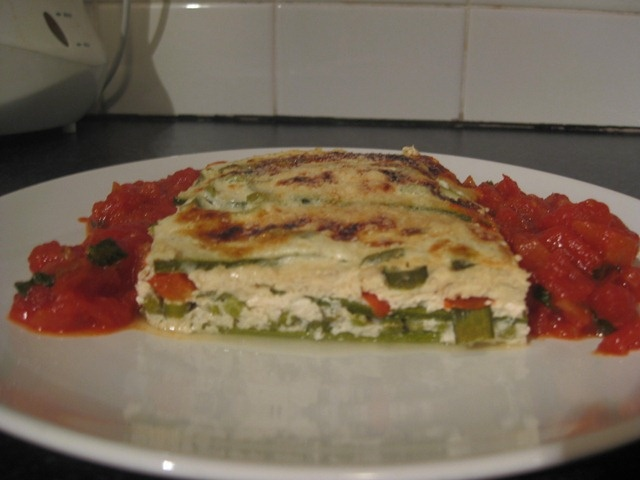 Low carb, vegetarian lasagne « noredmeat.com