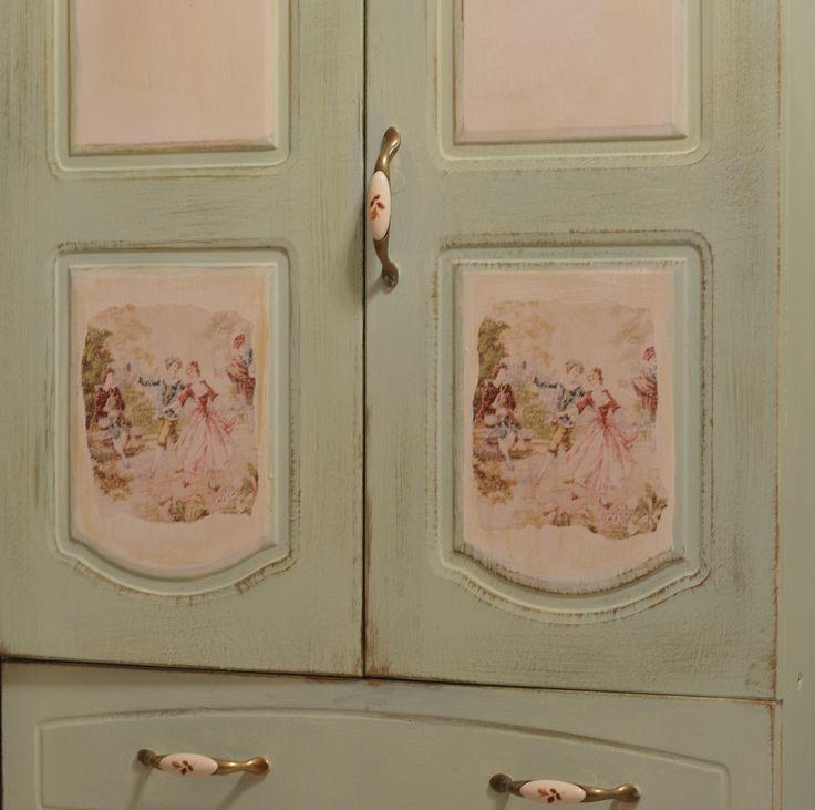 покраска роспись и декор ВАШЕЙ старой мебели