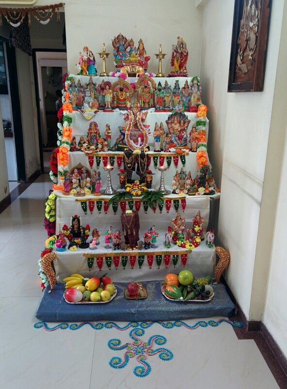 Kolu at my home during navarathri.