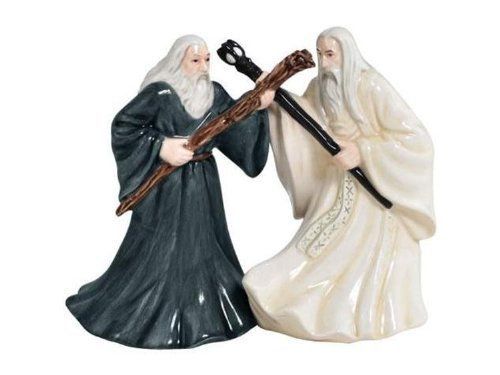 The Hobbit Gandalf Saruman Salt Pepper Shakers by Westland Giftware, http://www.amazon.com/dp/B00BNAZFU6/ref=cm_sw_r_pi_dp_.MW7rb1GCDXZY
