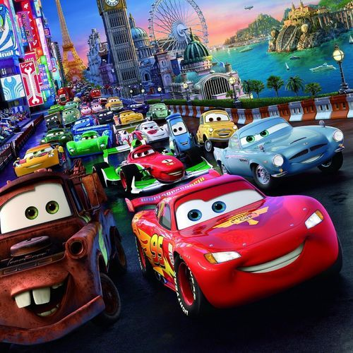 17 best ideas about disney cars wallpaper on pinterest for Disney pixar cars mural wallpaper