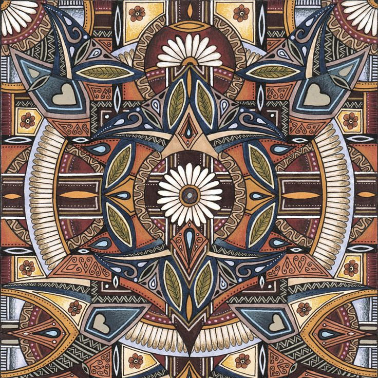 Hand drawn & painted mandalas by South African artist Lize Beekman Lize Beekman Colouring books for Adults
