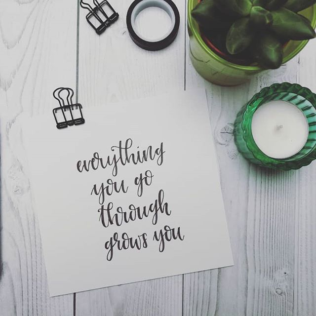 learn your lesson and find something positive in difficult situations.  #pen: #tombow  #motivation #liveyourlife #beyou #quotes #truewords #positivethoughts #goodvibesonly #lettering #handlettering #brushlettering #typography #linkshänder #lefty #50words #typeeverything #typolover #blackandwhite #typespire #picoftheday #photooftheday #letteringoftheday #letteringdaily