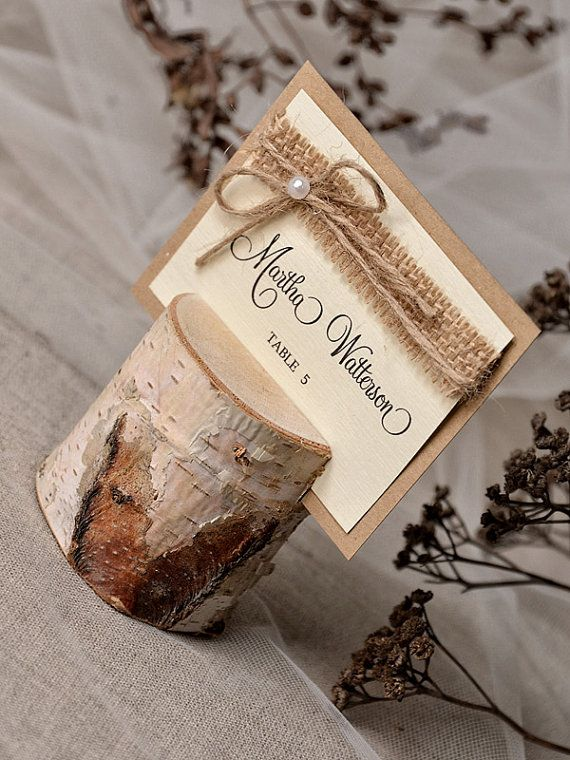 Hey, I found this really awesome Etsy listing at https://www.etsy.com/listing/188728158/rustic-place-card-holder-with-place-card