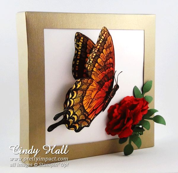 Stampin Up Swallowtail Stamp at prettyimpact.com