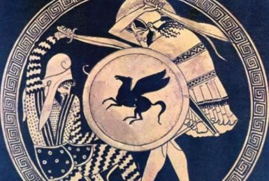 The Persian final defeat, The Battle of Plataea.