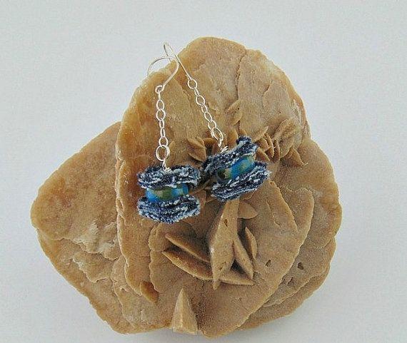 denim silver earrings denim jewelry collection denim by styledonna