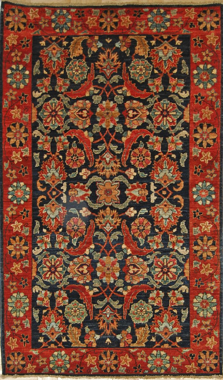 3 1 X 5 20ky220 Faryab Vegetable Dyed Hand Knotted Wool