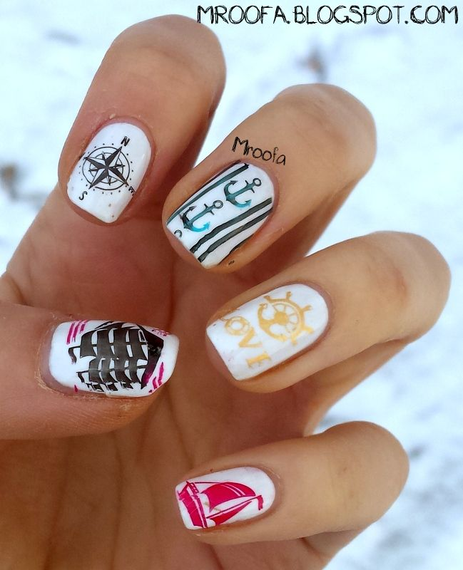 The 25 best marine nails ideas on pinterest nautical nails marine nails httpmroofaspot201502 prinsesfo Images