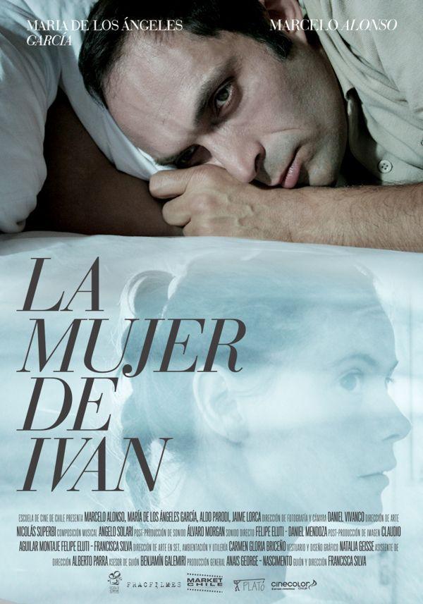 LA MUJER DE IVAN / Gráficas Cine Chileno by Mateo Gajardo, via Behance