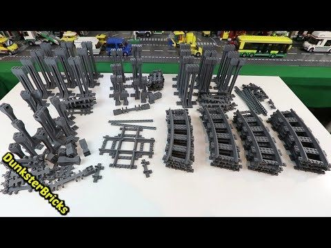 How To Build An Amazing Lego Train Track Layout For A Lego City (tt