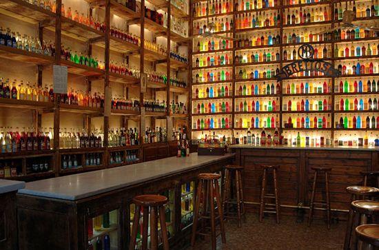 Brettos Liquors Store in Plaka, Athens.