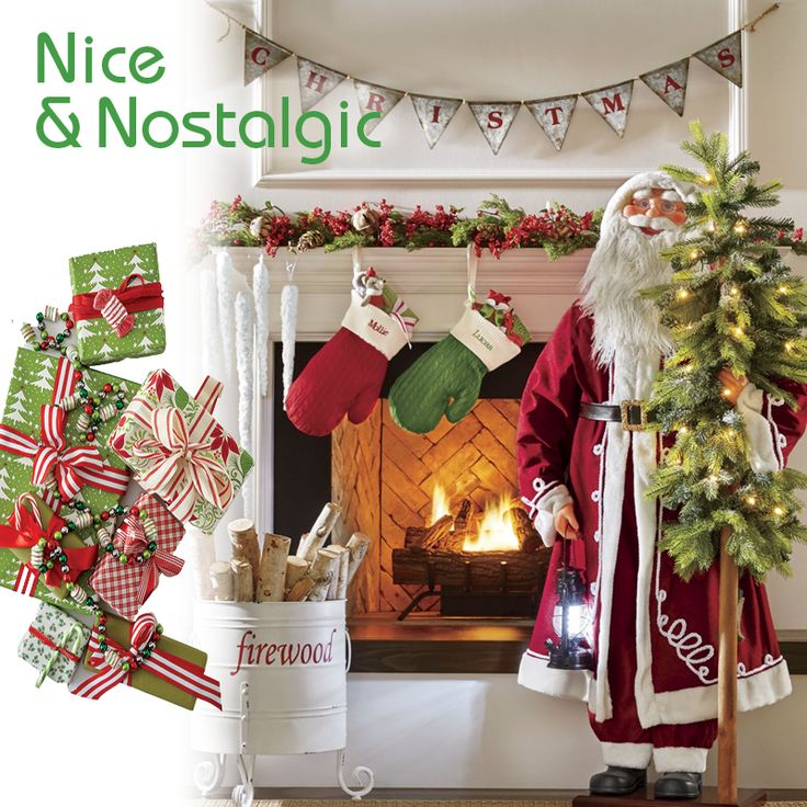 Nice U0026 Nostalgic Nothing Feels More Homey And Welcoming Than A Traditional  Old Fashioned Christmas. Christmas Decorating IdeasXmas ...
