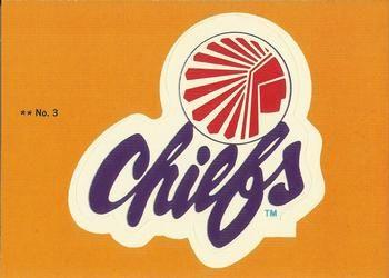 1979 Topps NASL #3 Atlanta Chiefs Logo Front