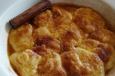Custard Dumplings (vla sponskluitjies) | Rainbow Cooking